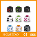 Training focus 6 Sides Relieve Stress Fidget Cube For Fidgeters Fidget Dice Anti-anxiety Toy for Children and Adults