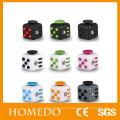 Wholesale 3d mini toy plastic Magic Fidget dice Cube