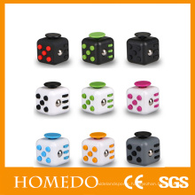 Wholesale 3d mini toy plastic Magic Fidget dice Cube