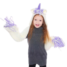 Child unicorn hat cape hat cartoon hat