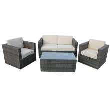 Konservatorium Outdoor Wicker Sofa Möbel Set