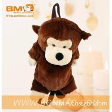Lovely Plush Backpack Soft Toy Stuffed Animal Monkey Toys