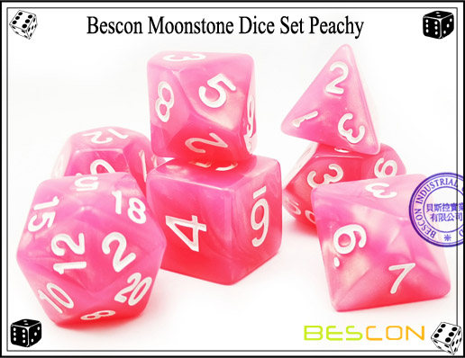 Peachy Dice Set-1