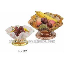 Cesta de frutas de cor