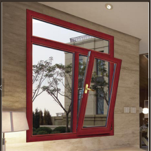 Aluminum Bottom Hung Tilt and Turn Window