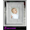 Children painting birthday picture frame