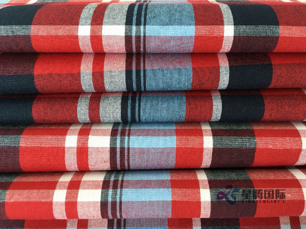 Check Shirt Fabric 100% Cotton Fabric