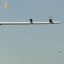 8M Galvanized Traffic Signal Pole 8M