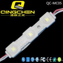 Fornecedor do ouro 3LEDs 5050SMD Anúncio Módulo de exposição do diodo emissor de luz Ao ar livre
