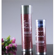 Hot tube new products accept small order custom cosmetic bottles clear plastic cylinder packaging box