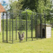 Vierkantrohr Rahmen Hühnerstall Hof Zwinger Haustier Stift Hund laufen Gehäuse