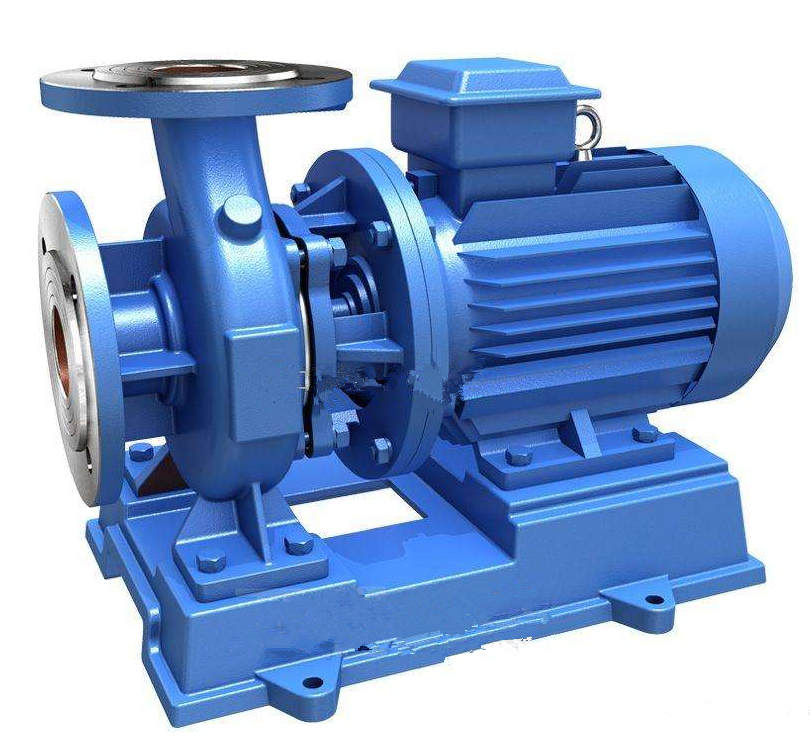 ISWR horizontal hot water pipe centrifugal pump horizontal hot water pump 3