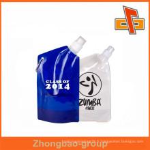 Pochette Stand Up personnalisée pour OEM avec bec de coin pour l'emballage de masque de gel
