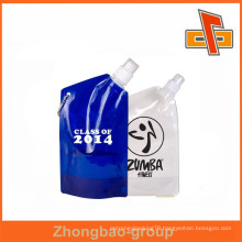 OEM Customized Stand Up Pouch With Corner Spout For Gel Mask Packaging