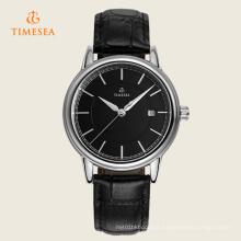 Montre-bracelet automatique mécanique noir Dial 72356