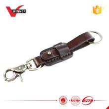 2015 Kundenspezifische Brown-Leder-Schlüsselkette