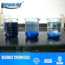 Produits chimiques polymères décolorants des effluents pour le traitement des eaux usées textiles