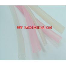 Tubo não padronizado de borracha de silicone do produto comestível de 100%