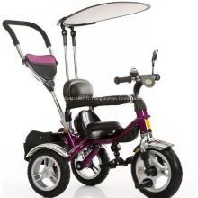 Mode sécurité bébé poussette Tricycle