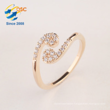 With gift box silver jewelry twelve constellations cancer ring making