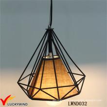 Lámpara colgante industrial de la vendimia del metal hecho a mano