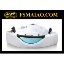 Новая дизайнерская угловая акриловая ванна с джакузи (BA-8603)