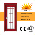 Межкомнатные деревянные двери со стеклом