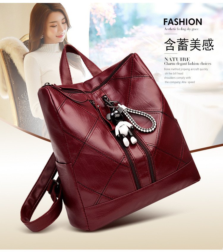 lady double shoulder bags s1812 (2)