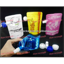 big lids spout pouch plastic bags/stand up baby use water zipper bags/aluminum foil zipper bags