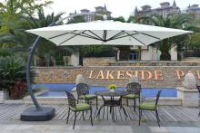 屋外パラソル多色ガーデン テラスの傘