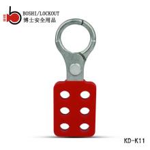 """BOSHI BD-K11 Aluminium Lockout Hasp mit 6 Löchern, Lockout Tagout Schäkel 25mm (1 """")"""