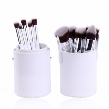 Synthetic Hair 10 Piece Travel Makeup Brush (TOOL-193)