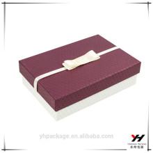 Упаковка Подарочная Коробка Материал Рециркулированный Необычные Украшен Лентой