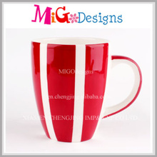 Top Qualty Custom Made Ceramic Mug with Hand-Printing