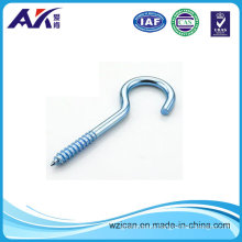 Zinc Plated Screw Hook for Wooden Board