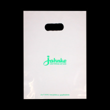 Biodegradable HDPE Carrier Handle Bag