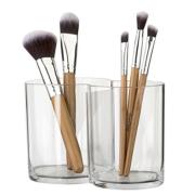 Suporte de escova de maquiagem de plástico de qualidade superior e de qualidade superior