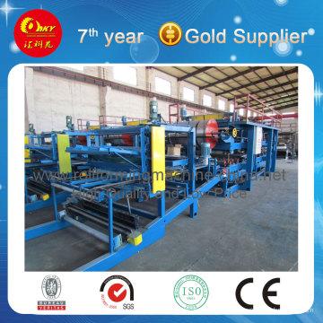 3rd PU Sandwich Steel Panel Roll Forming Machine (HKY)