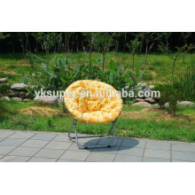 Polyester fabric adult and kids folding chairs, moon chair, leisure chair