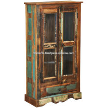 Recycle wood cabinet