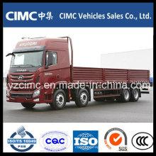 China Famosa qualidade superior Hyundai 8X4 Cargo Truck