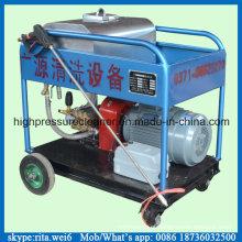 Máquina de limpeza de superfície industrial 300bar Máquina de limpeza de água de alta pressão