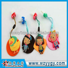 New custom cute rubber dust cap for promotional gift from factory