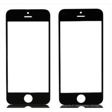 Le meilleur verre de panneau avant pour iPhone 6, noir et blanc