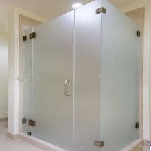 Матовое стекло двери сауны Цена за квадратный метр