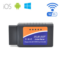 Global Hot Elm327 WiFi Elm327 V1.5 Obdii OBD2 Automotive Scanner for Android/Ios/Windows Hh Advanced Elm327 Auto Diagnostic Tool OBD2 for Cars