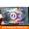 Transparent Anti-Fake Custom Hologram ID Overlays