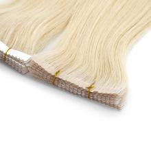 Straight Tape in Hair Extension Brazilian Human Virgin Hair PU Skin Weft