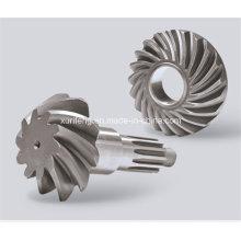 Engranajes biselados de excavadora fabricados en China