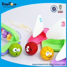 Colorido, bote, banho, brinquedo, bola